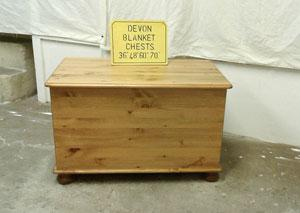 Our Pine blanket boxes come in a variety of shapes and sizes.