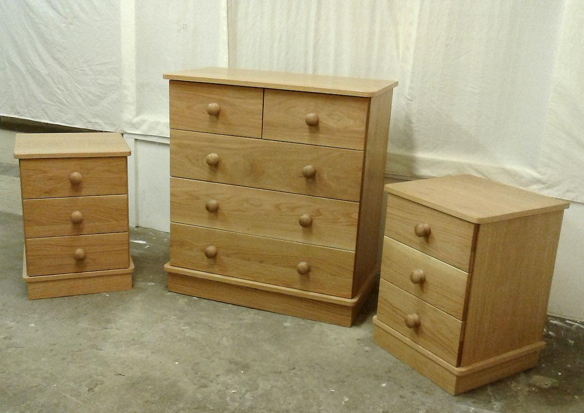 Exmoor Oak Chests of Drawers