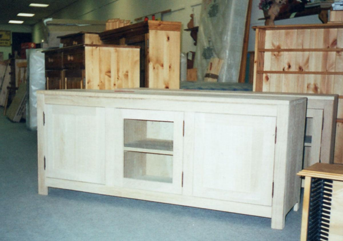 3 Door Oak Sideboard