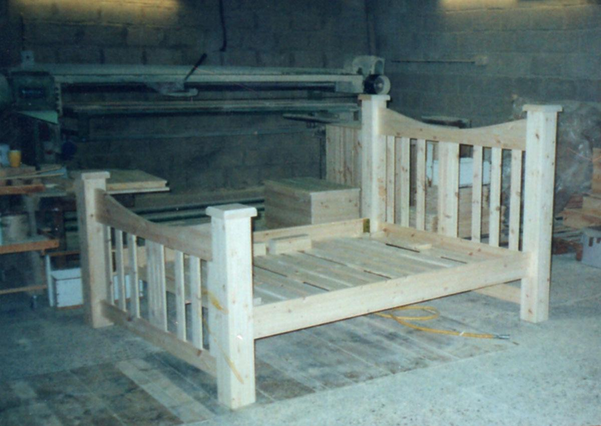 Oak bed frames in any size